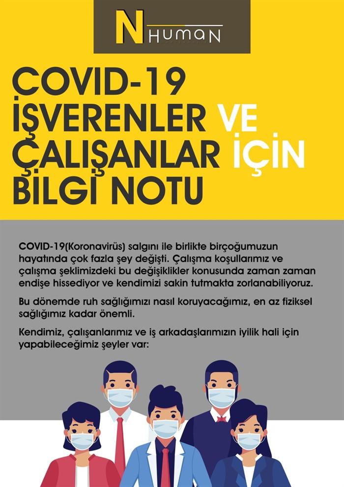 Covid-19 İşverenler ve Çalışanlar İçin Bilgi Notu